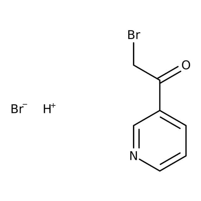 3-(Bromoacetyl)pyridine hydrobromide, 98%, ACROS Organics™  3-(Bromoacetyl)pyridine hydrobromide, 98%, ACROS Organics™