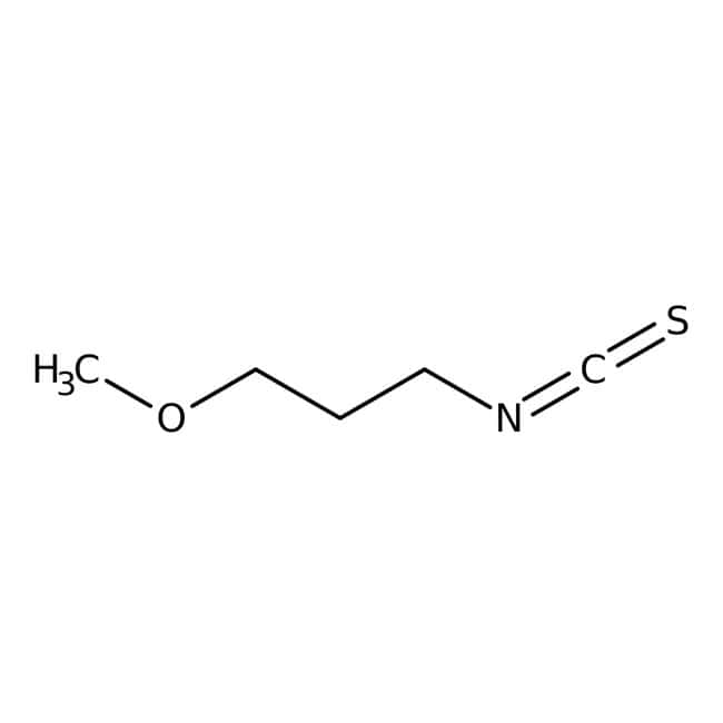 3-Methoxypropyl isothiocyanate, 97%, Maybridge™ 50g 3-Methoxypropyl isothiocyanate, 97%, Maybridge™