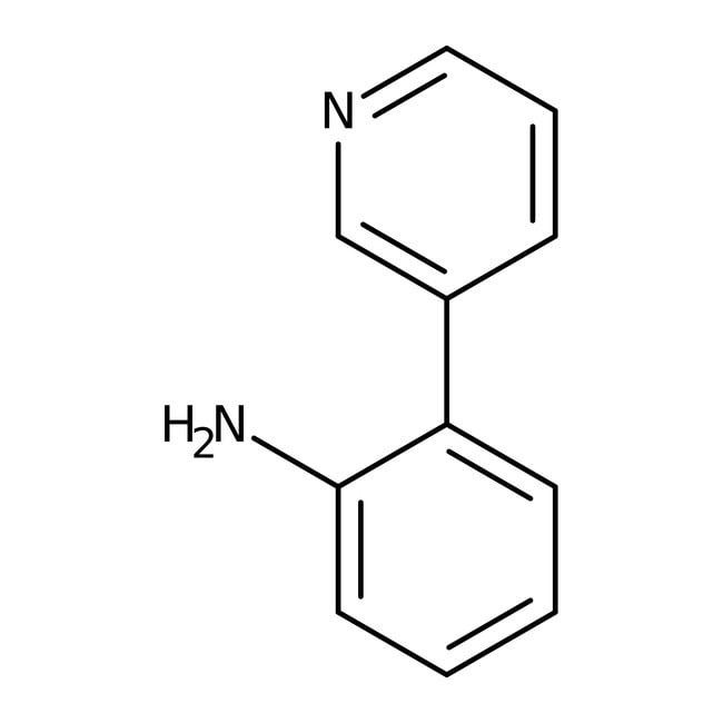 2-Pyridin-3-ylaniline, 95%, Maybridge Amber Glass Bottle; 1g 2-Pyridin-3-ylaniline, 95%, Maybridge