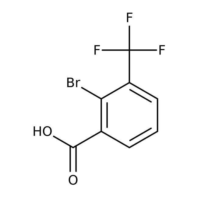 Alfa Aesar™2-Bromo-3-(trifluoromethyl)benzoic acid, 98%