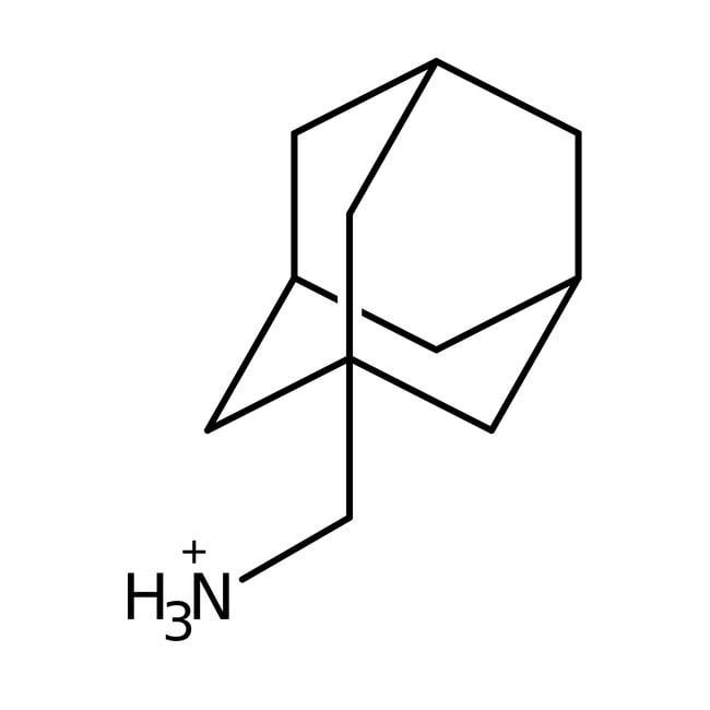 1-Adamantanemethylamine, 98%, ACROS Organics™ 5g; Glass bottle 1-Adamantanemethylamine, 98%, ACROS Organics™