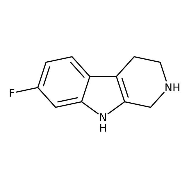 7-Fluoro-1,2,3,4-tetrahydro-9H-pyrido[3,4-b]indole, 95%, Alfa Aesar™