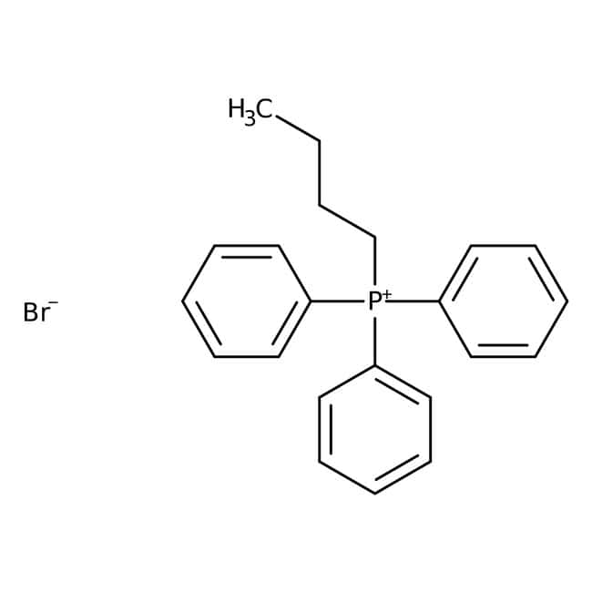 n-Butyltriphenylphosphonium bromide, 99%, Acros Organics 5g; Glass bottle n-Butyltriphenylphosphonium bromide, 99%, Acros Organics