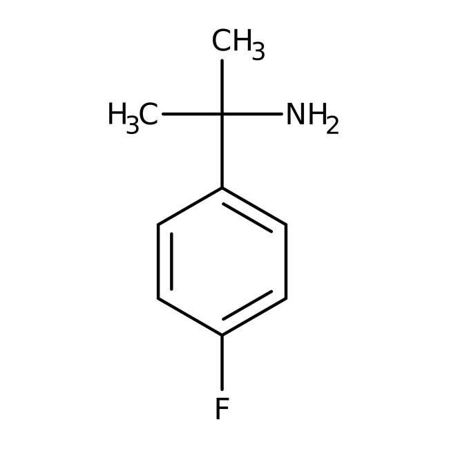1-(4-Fluorphenyl)-1-methylethylamin, 97%, ACROS Organics™ 1 g-Glasflasche 1-(4-Fluorphenyl)-1-methylethylamin, 97%, ACROS Organics™