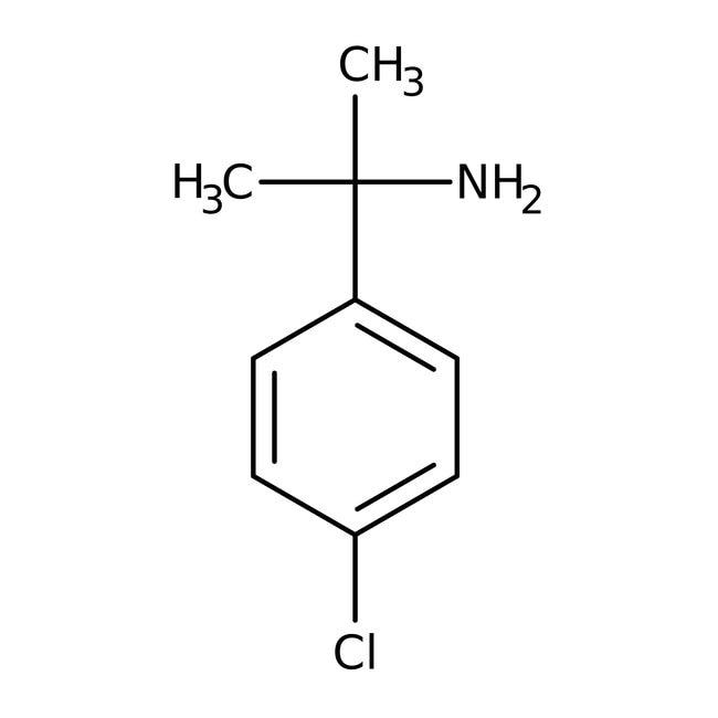 Alfa Aesar™1-(4-Chlorophenyl)-1-methylethylamine, 97% 1g Alfa Aesar™1-(4-Chlorophenyl)-1-methylethylamine, 97%