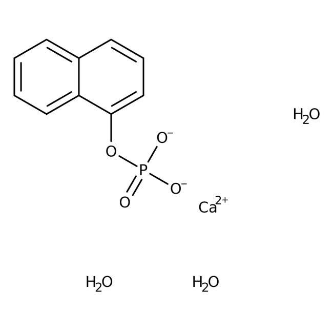1-Naphthyl phosphate, calcium salt trihydrate, 97%, ACROS Organics