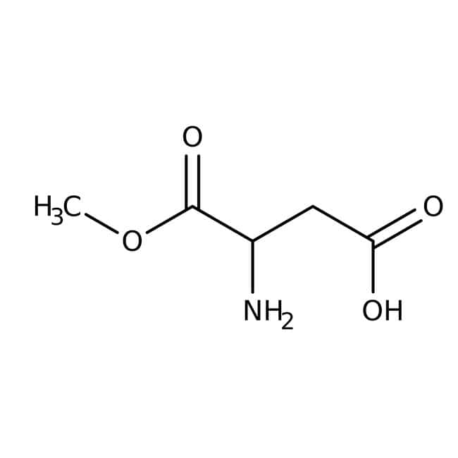Alfa Aesar™ L-Aspartic acid 1-methyl ester, 98% 5g Alfa Aesar™ L-Aspartic acid 1-methyl ester, 98%