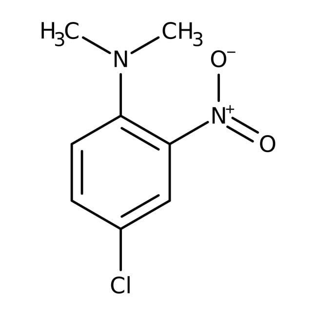 Alfa Aesar™4-Chloro-N,N-dimethyl-2-nitroaniline, 97% 1g Alfa Aesar™4-Chloro-N,N-dimethyl-2-nitroaniline, 97%