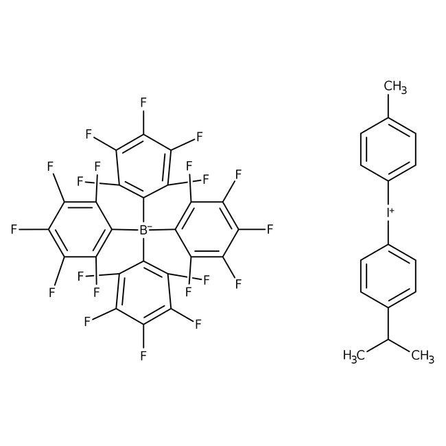 4-Isopropyl-4′-methyldiphenyliodonium Tetrakis(pentafluorophenyl)borate 98.0+%, TCI America™