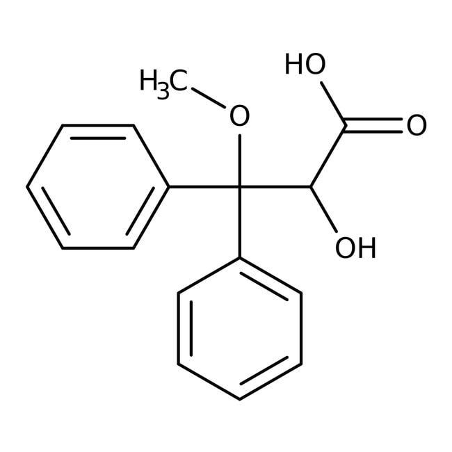 (S)-2-Hydroxy-3-methoxy-3,3-diphenylpropionic Acid 98.0+%, TCI America™