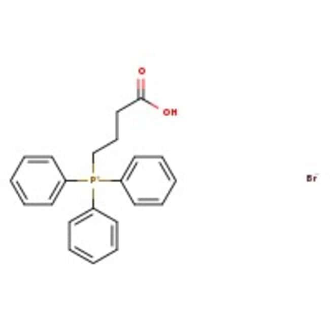 Alfa Aesar™(3-Carboxypropyl)triphenylphosphonium bromide, 97% 500g Alfa Aesar™(3-Carboxypropyl)triphenylphosphonium bromide, 97%