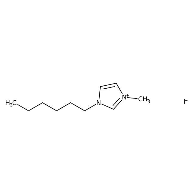 Alfa Aesar™1-n-Hexyl-3-methylimidazoliumiodid, 98% 50g Alfa Aesar™1-n-Hexyl-3-methylimidazoliumiodid, 98%