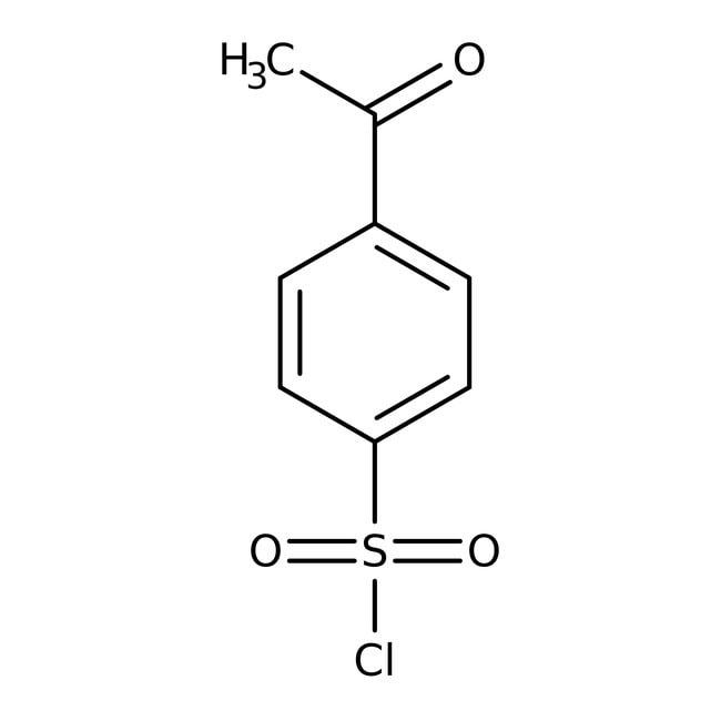 4-Acetylbenzenesulfonyl chloride, 97%, ACROS Organics™ 50g, Glass bottle 4-Acetylbenzenesulfonyl chloride, 97%, ACROS Organics™