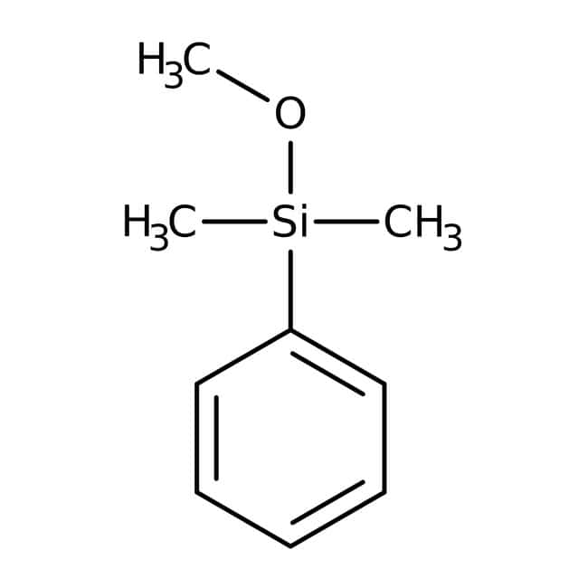 Alfa Aesar™ Methoxydimethylphenylsilane, 97%: Organosilicon compounds Organometalloid compounds