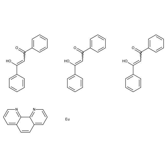 Alfa Aesar™Tris(dibenzoylmethane)mono(phenanthroline)europium(III)