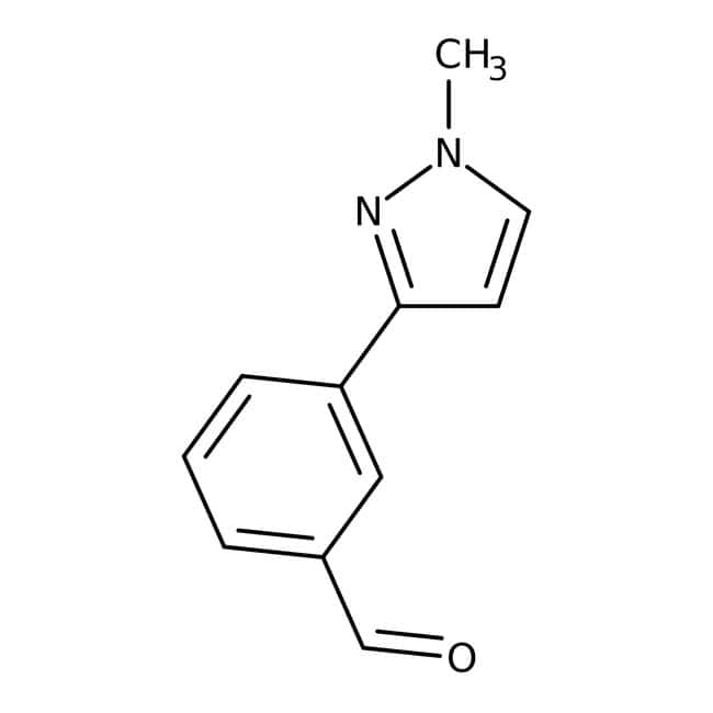3-(1-Methyl-1H-pyrazol-3-yl)benzaldehyde, 90%, Maybridge: Aldehydes Carbonyl compounds