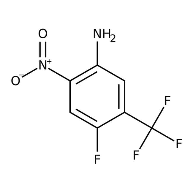 Alfa Aesar™4-Fluoro-2-nitro-5-(trifluoromethyl)aniline, 98%