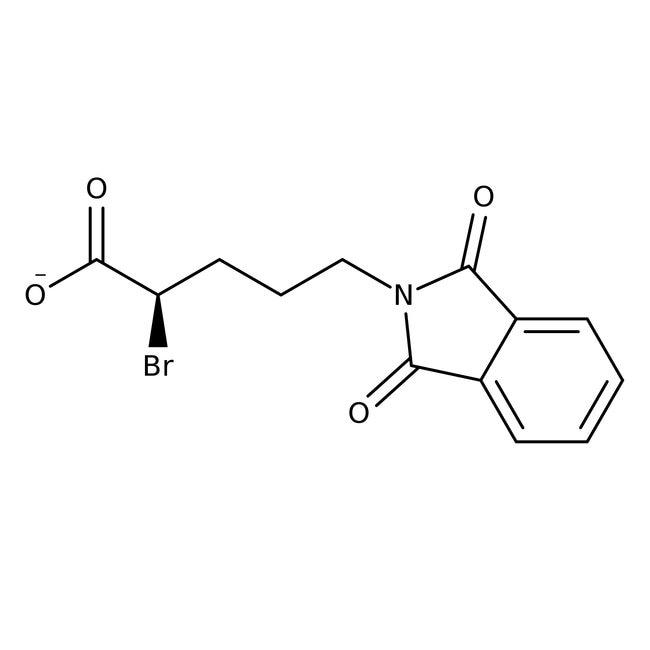 (R)-5-Phthalimido-2-bromovaleric acid, 95%,(95% ee), Acros Organics