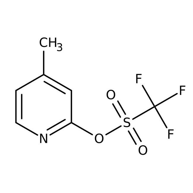 4-Methyl-2-pyridyl Trifluoromethanesulfonate 97.0+%, TCI America™