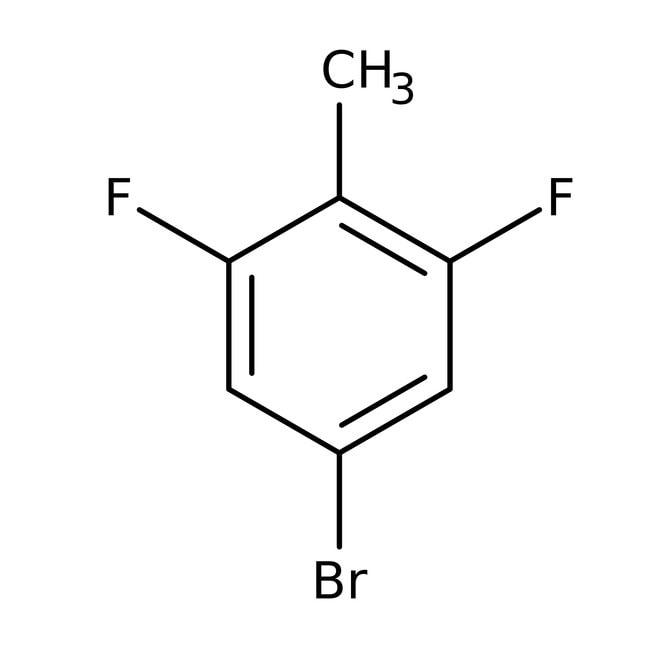 Alfa Aesar™4-Bromo-2,6-difluorotoluene, 98% 1g Alfa Aesar™4-Bromo-2,6-difluorotoluene, 98%