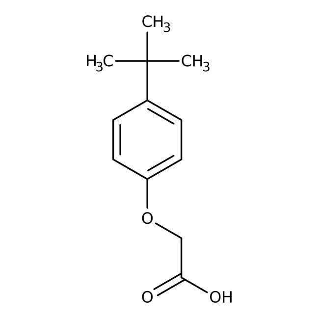Alfa Aesar  4-tert-Butylphenoxyacetic acid, 98%