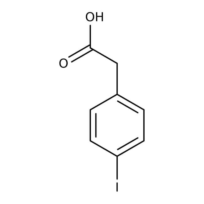 4-Iodophenylacetic acid, 97%, Acros Organics