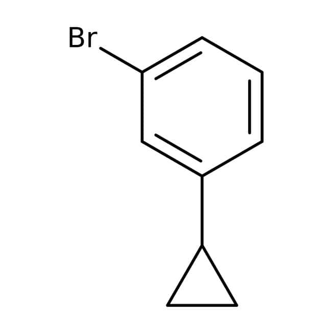 1-Bromo-3-cyclopropylbenzene, 96%, ACROS Organics™ 250mg 1-Bromo-3-cyclopropylbenzene, 96%, ACROS Organics™
