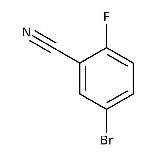 Alfa Aesar  5-Bromo-2-fluorobenzonitrile, 98%