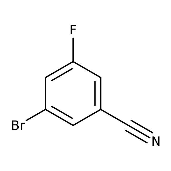 3-Bromo-5-fluorobenzonitrile, 98%, ACROS Organics™  3-Bromo-5-fluorobenzonitrile, 98%, ACROS Organics™