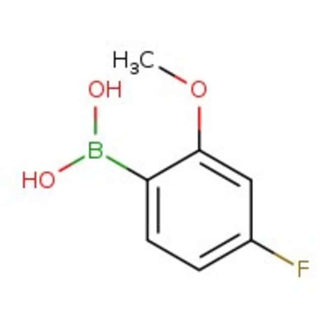 4-Fluoro-2-methoxyphenylboronic acid, 97%, ACROS Organics