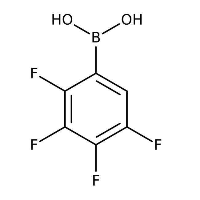 Alfa Aesar™Acide 2,3,4,5-tétrafluorobenzénébrique, 97% 250mg Alfa Aesar™Acide 2,3,4,5-tétrafluorobenzénébrique, 97%