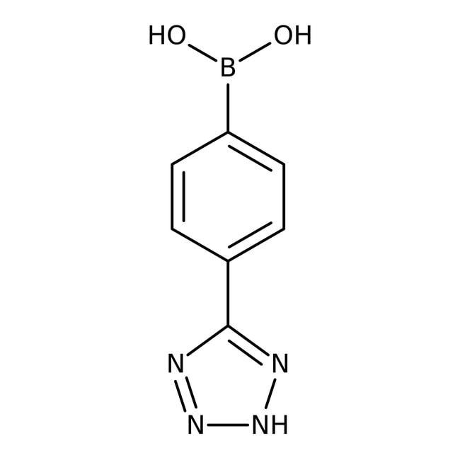 4-(Tetrazol-5-yl)phenylboronic acid, 97%, ACROS Organics™