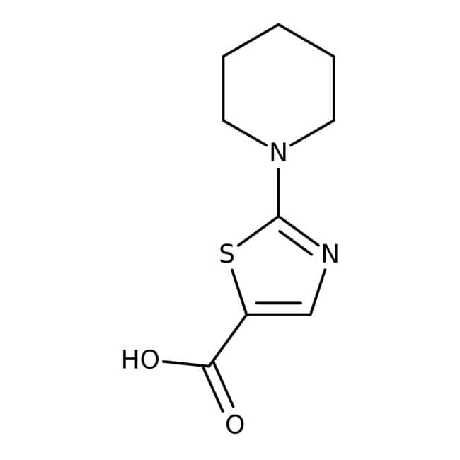 2-piperidino-1,3-thiazole-5-carboxylic acid, 97%, Maybridge™