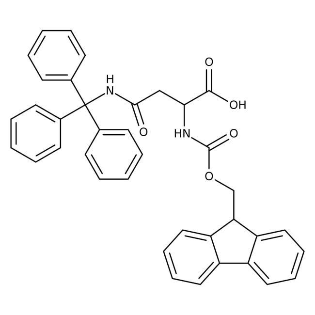 Alfa Aesar™Nalpha-Fmoc-N-gamma-trityl-D-asparagine, 97% 5g Alfa Aesar™Nalpha-Fmoc-N-gamma-trityl-D-asparagine, 97%