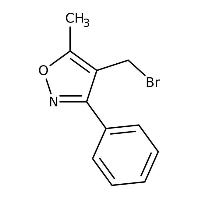4-(Bromomethyl)-5-methyl-3-phenylisoxazole, 97%, Maybridge