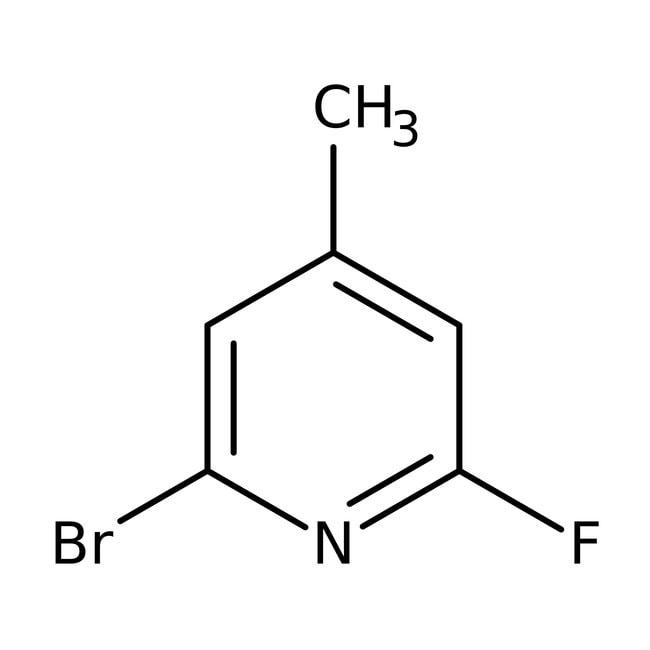 Alfa Aesar™2-Bromo-6-fluoro-4-methylpyridine, 98% 1g Alfa Aesar™2-Bromo-6-fluoro-4-methylpyridine, 98%
