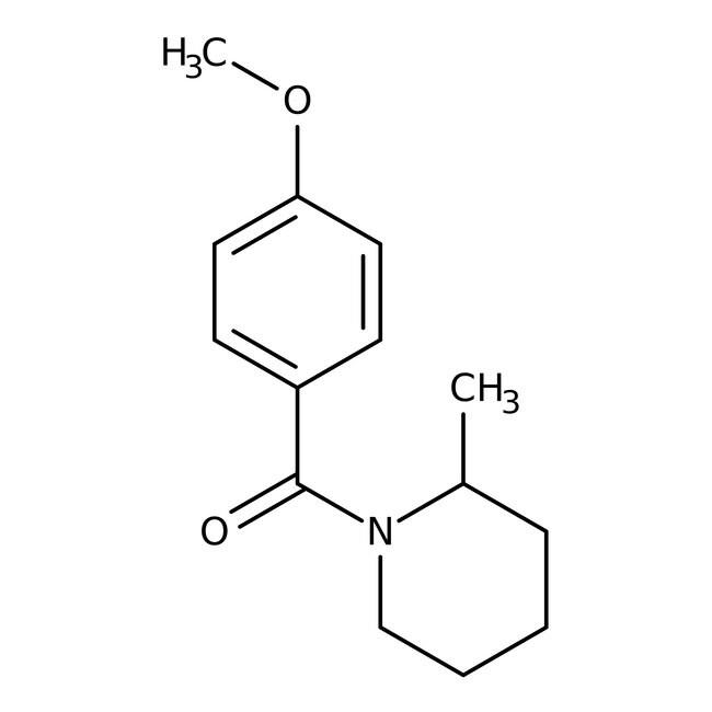 Alfa Aesar™1-(4-Methoxybenzoyl)-2-Methylpiperidin, 97% 250mg Alfa Aesar™1-(4-Methoxybenzoyl)-2-Methylpiperidin, 97%