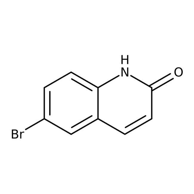 Alfa Aesar™6-Bromo-2(1H)-quinolinone, 96%