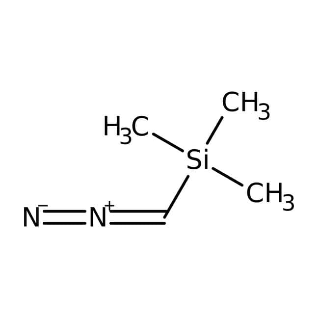 (Trimethylsilyl)diazomethan, 2-M-Lösung in Hexanen, Acros Organics™: Organic metal salts Organic salts