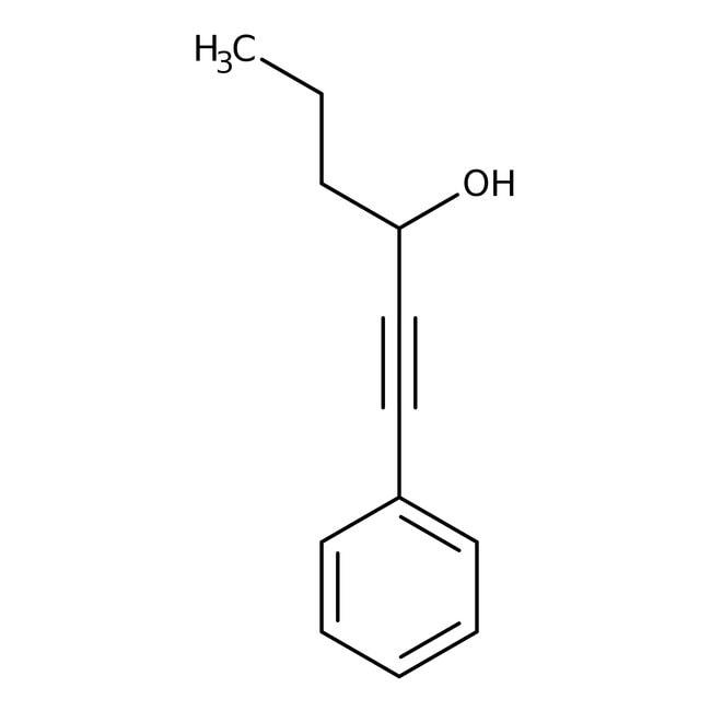 Alfa Aesar™1-Phenyl-1-hexyn-3-ol, 97%