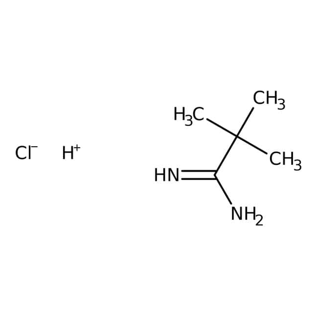 2,2-Dimethylpropanimidamide hydrochloride, 97%, Maybridge: Amidines Organonitrogen compounds