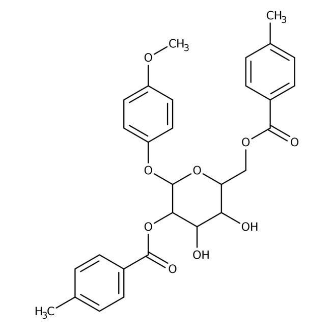 4-Methoxyphenyl 2,6-Bis-O-(4-methylbenzoyl)-beta-D-galactopyranoside 98.0 %, TCI America