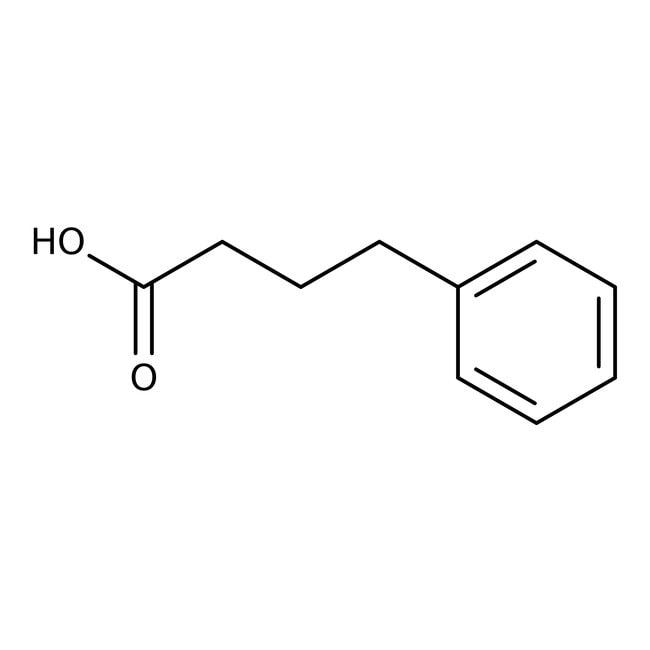 4-Phenylbutyric acid, 99%, ACROS Organics™ 25g; Glass bottle 4-Phenylbutyric acid, 99%, ACROS Organics™