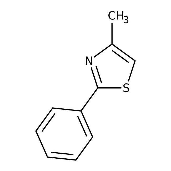 Alfa Aesar™4-Metil-2-feniltiazol, 98% 1g Alfa Aesar™4-Metil-2-feniltiazol, 98%