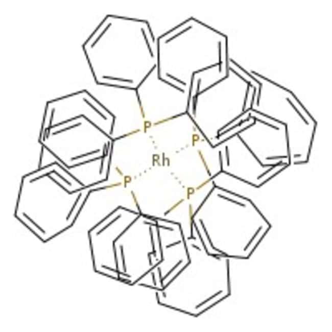 Alfa Aesar™Hydridotetrakis(triphenylphosphine)rhodium(I), Rh 8.9% min