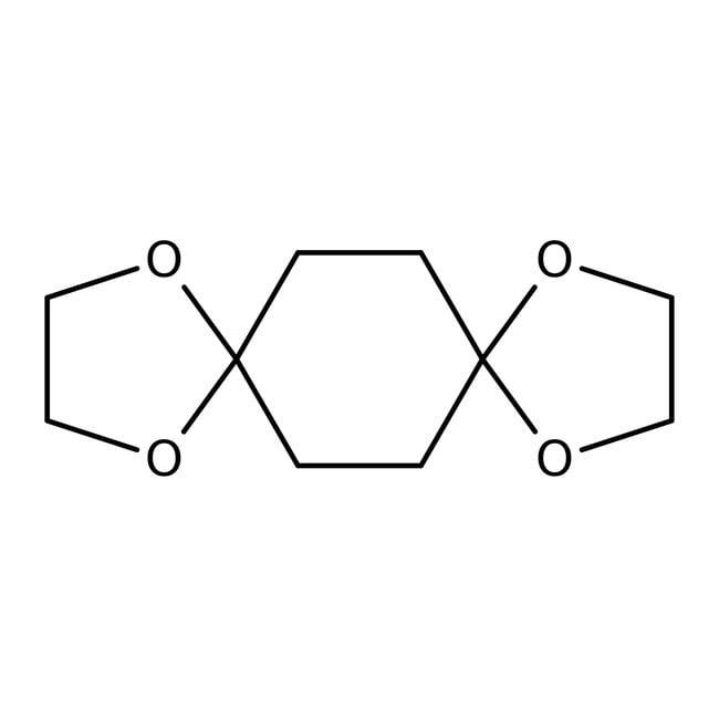 Alfa Aesar™1,4-Cyclohexanedione bis(ethylene acetal), 99% 50g Alfa Aesar™1,4-Cyclohexanedione bis(ethylene acetal), 99%