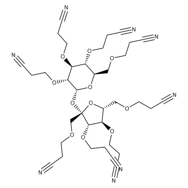 Cyanoethyl sucrose, Acros Organics™ Glass bottle; 10g Cyanoethyl sucrose, Acros Organics™