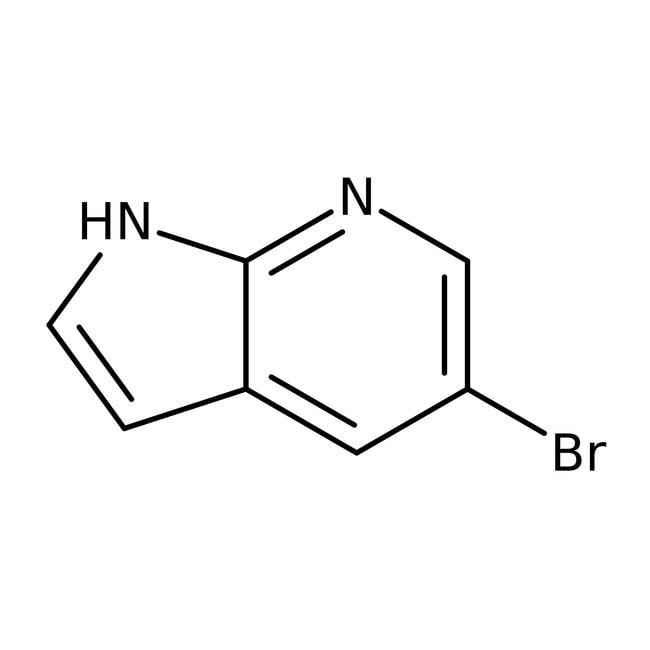 5-Bromo-7-azaindole, 97%, ACROS Organics™ 1g; Glass bottle 5-Bromo-7-azaindole, 97%, ACROS Organics™
