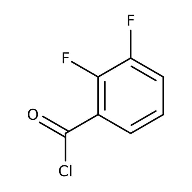 Alfa Aesar™Cloruro de 2,3-difluorobenzoílo, 97% 5g Alfa Aesar™Cloruro de 2,3-difluorobenzoílo, 97%