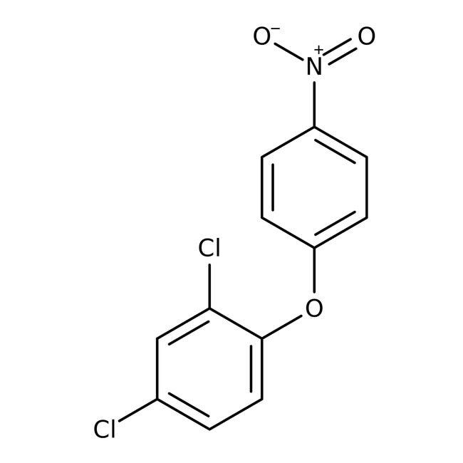 Alfa Aesar™2,4-Dichloro-1-(4-nitrophenoxy)benzene, 98%: Benzene and substituted derivatives Benzenoids